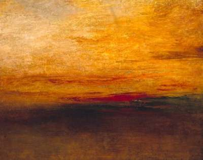 Sunset de Turner.